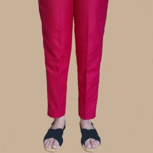 unstiched trouser pink