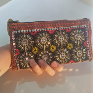 Ladies Floral Fancy Traditional Wallet Purse