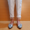 Organza Work Laced Cotton Trouser