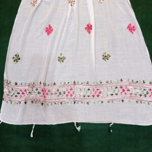 Embroided Lawn Large Scarf Stole
