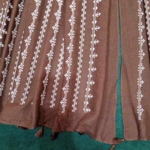Embossed Lawn Large Scarf Stole – 180 x 90 Cm