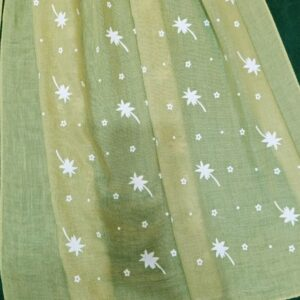 Embossed Lawn Large Scarf Stole
