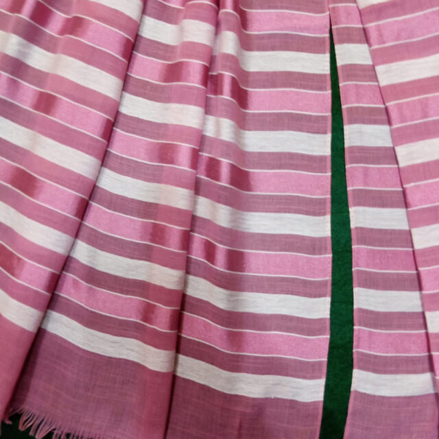 Striped Lawn Scarf Stole