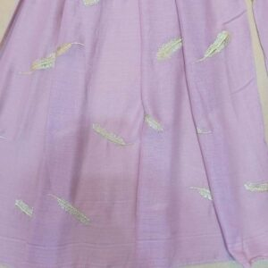 Embroided Lawn Large Scarf Stole - 190 x 80 Cm - ZSC102- (1)