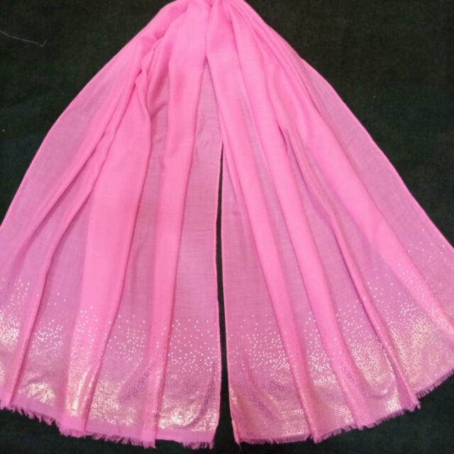 Light Pink scarf stole190 x80cm ZSC105 (1)