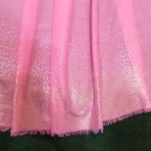 Light Pink scarf stole190 x80cm ZSC105 (2)