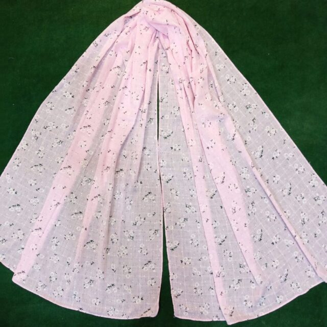 Light pink scarf stole190 x70 cm ZSC104(3)