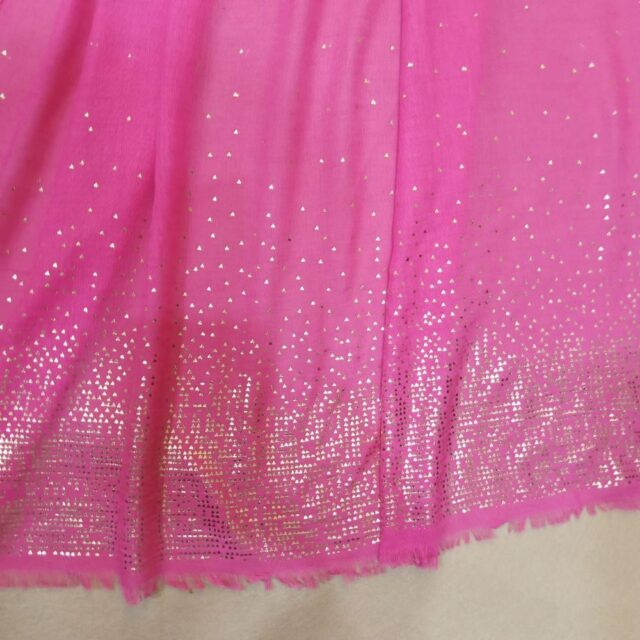 Pink scarf stole190 x80cm ZSC105 (2)