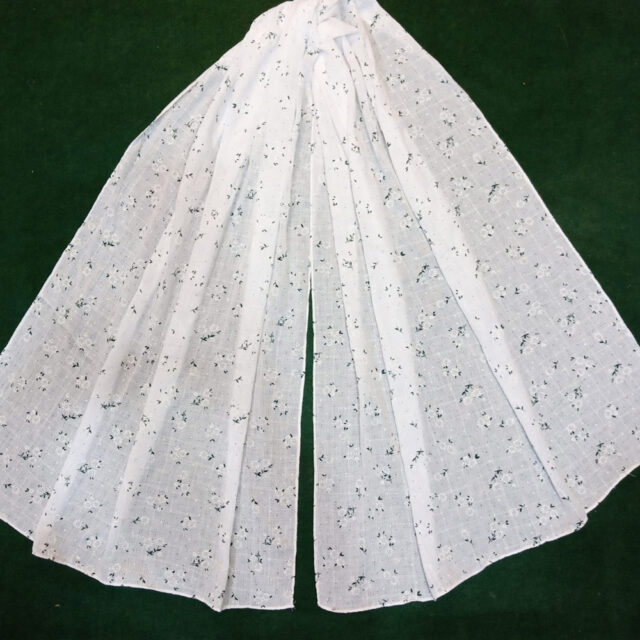 White scarf stole190 x70 cm ZSC104