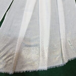 White scarf stole190 x80cm ZSC105 (1)
