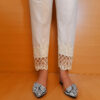 2Embroided – Cotton Trouser – Off White – ZT303 (2)