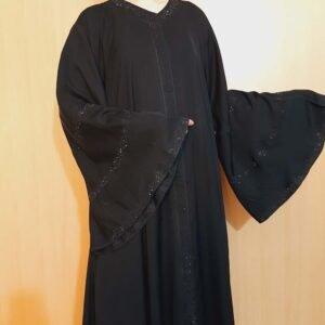 Sequence Fancy Abaya Nida Fabric